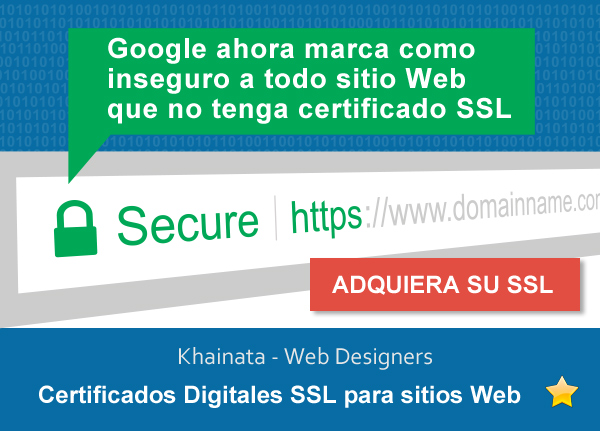 Registro de Certificados Digitales SSL